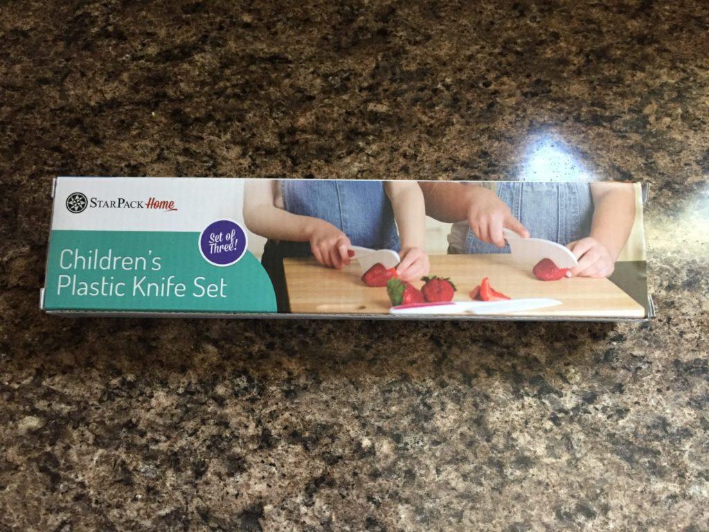 StarPack Nylon Kitchen Knife Set in Box